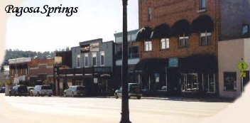 pagosa springs town Find Lodging in Pagosa Springs