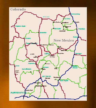 Map Of Southern Colorado And Northern New Mexico Find how to Advertise Northern New Mexico or Southern Colorado